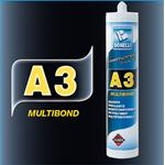 INCOLLANTE A3 MULTIBOND NERO CARTUCCIA 290ML